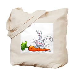 Bunnies Love Carrots Tote Bag