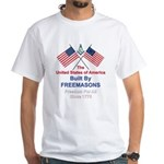 Masonic 4th of July White T-Shirt