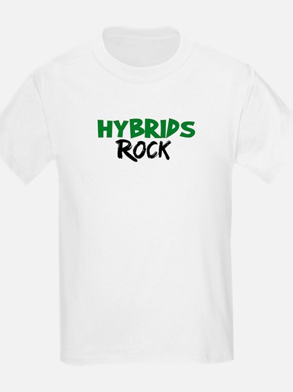 Hybrid Cars Rock T-Shirt
