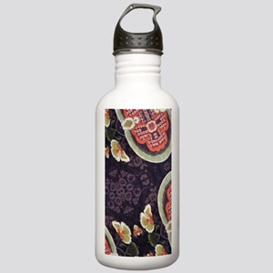 floral patten japanese Stainless Water Bottle 1.0L