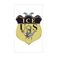 Mason ICE Rectangle Decal