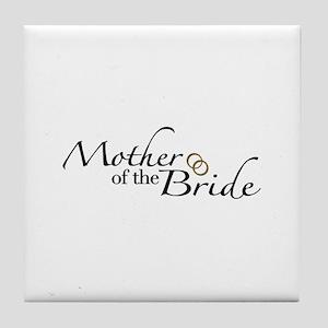 Mother of the Bride (Wedding) Tile Coaster
