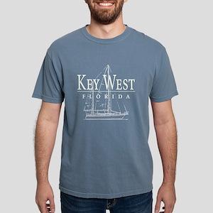 Key West Sailboat - Women's Dark T-Shirt