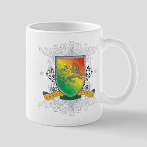Rasta Shield Mug