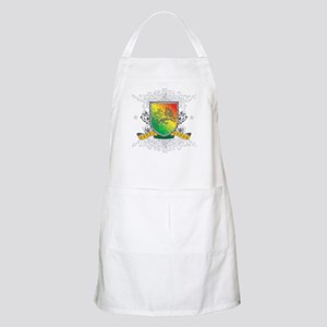 Rasta Shield BBQ Apron