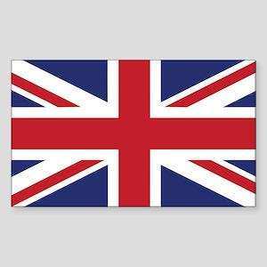 Flag of the United Kingdom Sticker (Rectangle)