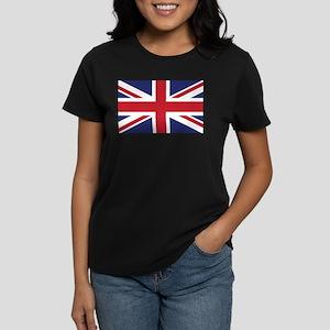 Flag of the United Kingdom Women's Dark T-Shirt