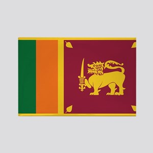 Flag of Sri Lanka Rectangle Magnet
