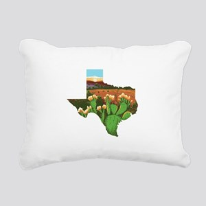 Texas State Is My Home L Rectangular Canvas Pillow