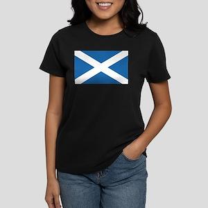 Flag of Scotland Women's Dark T-Shirt