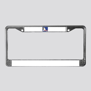 Let's Roll License Plate Frame