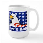 Let's Roll Large Mug