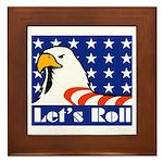 Let's Roll Framed Tile