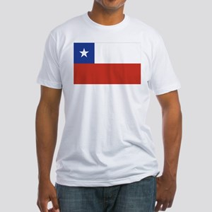 Flag of Chile Fitted T-Shirt
