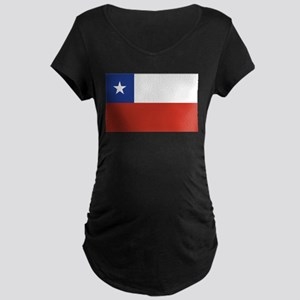 Flag of Chile Maternity Dark T-Shirt