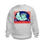 Lady Liberty Kids Sweatshirt