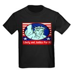 Lady Liberty Kids Dark T-Shirt