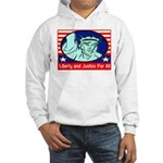 Lady Liberty Hooded Sweatshirt