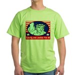 Lady Liberty Green T-Shirt