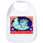 Lady Liberty Bib