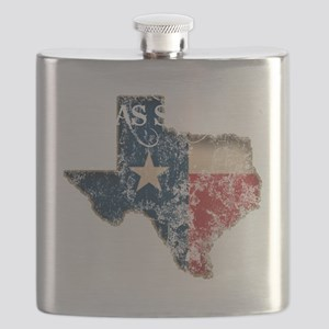 Texas State Is My Home Longhorn Design 24 Flask