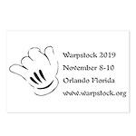 Warpstock Event Postcards (package Of 8)