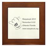 Warpstock Event Framed Tile