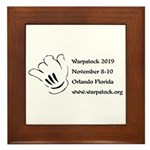 Warpstock Event Framed Tile