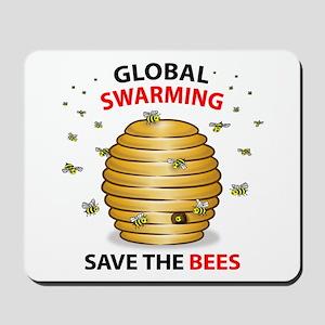 Save The HoneyBee Environmental Mousepad