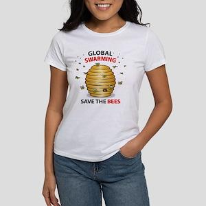 Save The HoneyBee Environmental Women's T-Shirt