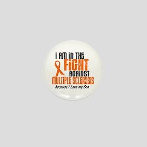 In The Fight Against MS 1 (Son) Mini Button