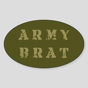 Army Brat Oval Sticker