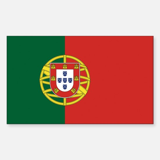 Flag of Portugal Sticker (Rectangle)