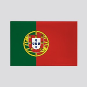 Flag of Portugal Rectangle Magnet