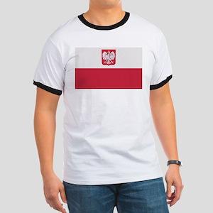 Flag of Poland Ringer T