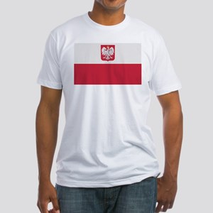 Flag of Poland Fitted T-Shirt