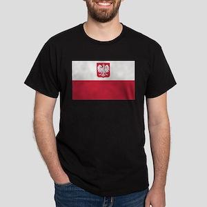 Flag of Poland Dark T-Shirt