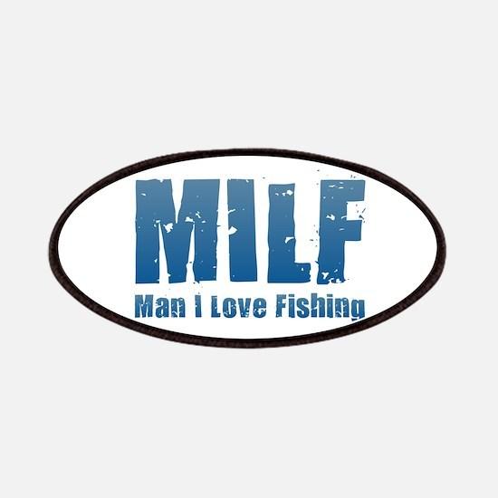 MILF - Man I Love Fishing Patch
