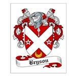 Bryson Family Crest Small Poster