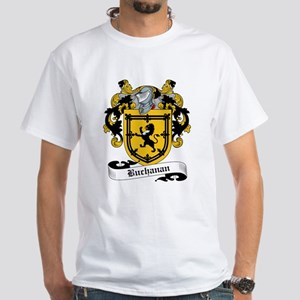 Buchanan Family Crest White T-Shirt