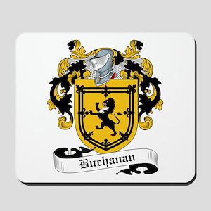 Buchanan Family Crest Mousepad