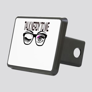 Talk Nerdy To Me Geek Glas Rectangular Hitch Cover