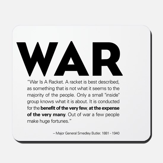 WAR Mousepad