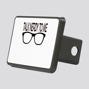 Talk Nerdy To Me with Blac Rectangular Hitch Cover