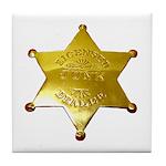 Licensed Junk Dealer Tile Coaster