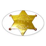 Licensed Junk Dealer Oval Sticker (10 pk)