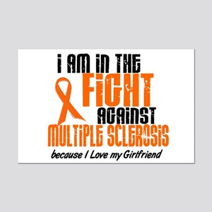In The Fight Against MS 1 (Girlfriend) Mini Poster