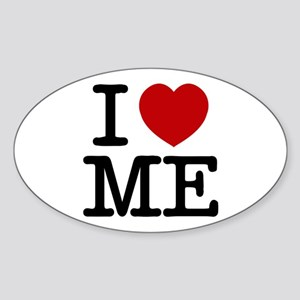 I LOVE ME By RIFFRAFFTEES.COM Sticker (Oval)