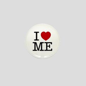 I LOVE ME By RIFFRAFFTEES.COM Mini Button