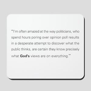 God's View Mousepad